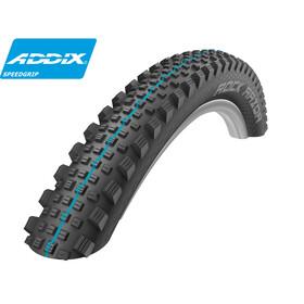 "SCHWALBE Rock Razor - Pneu vélo - 27,5"" Addix Speedgrip SnakeSkin TL-Easy noir"